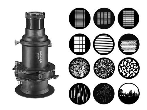 Kit montura de proyección Dedolight DP400 185mm f3.5