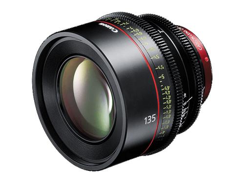 Objetivo Canon CN-E 135mm T2.2 L F