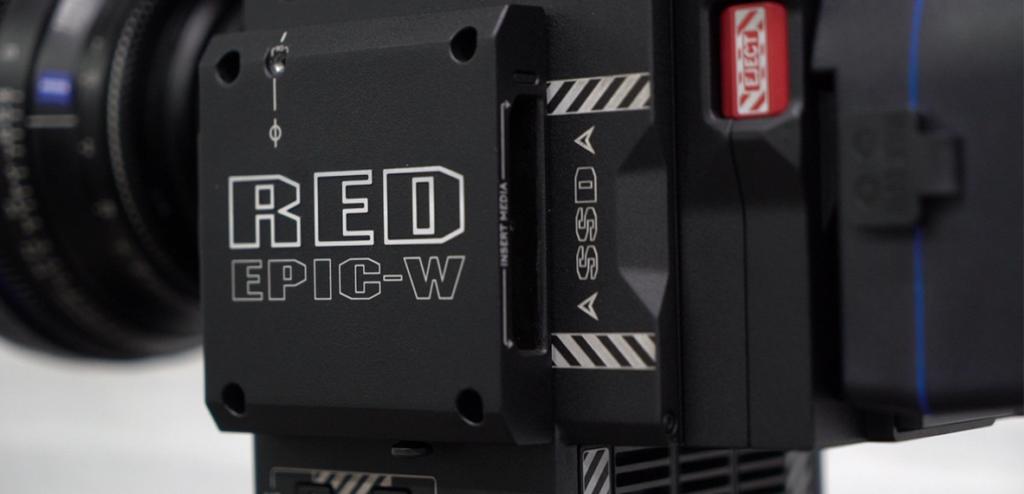 Características técnicas RED EPIC-W