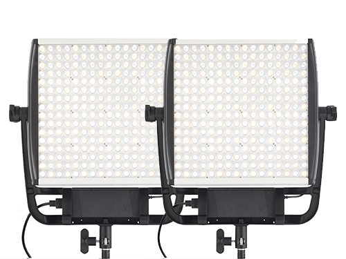 Kit 2 paneles LED bicolor Litepanels Astra 1x1