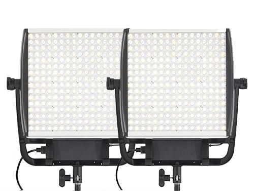 Kit 2 paneles LED bicolor Litepanels Astra 1x1