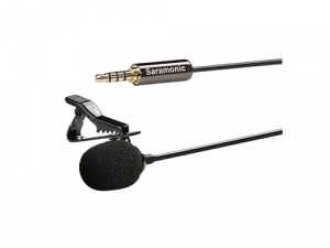 Micrófono de corbata Saramonic SR-LMX1