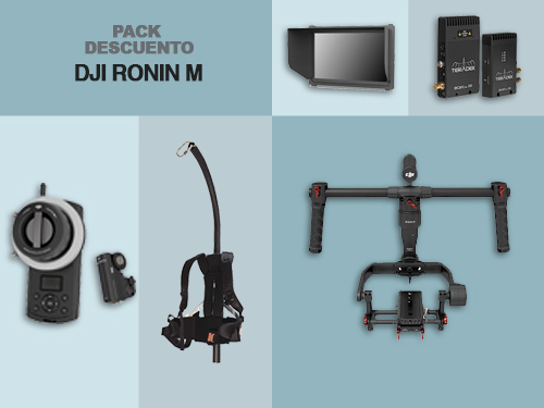 "Pack descuento ""DJI RONIN M"""