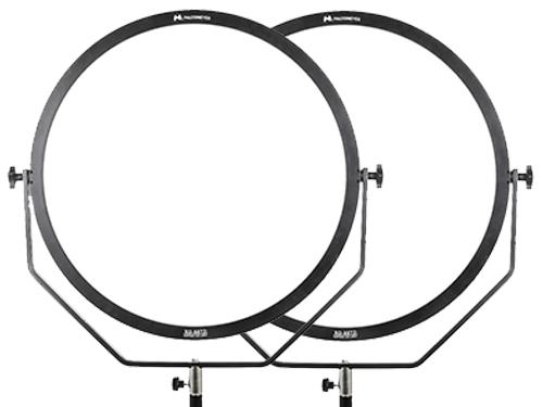 Kit 2 paneles LED circulares FalconEyes SO-108TD 3000K-5600K