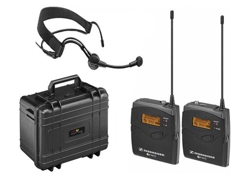 Micrófono inalámbrico de diadema Sennheiser EW 100 ENG G3