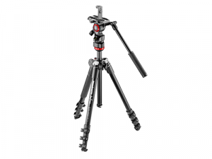 Trípode Manfrotto Befree Live + Pinza Manfrotto Twistgrip