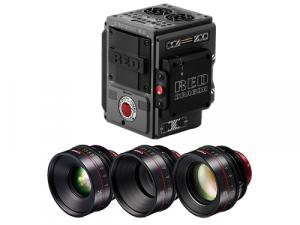 RED SCARLET-W 5K + Objetivos Canon CN-E 24-50-85mm