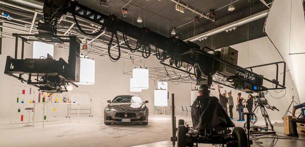 Sesión de rodaje en BAD CAT para un anuncio de Maserati de PPG Industries