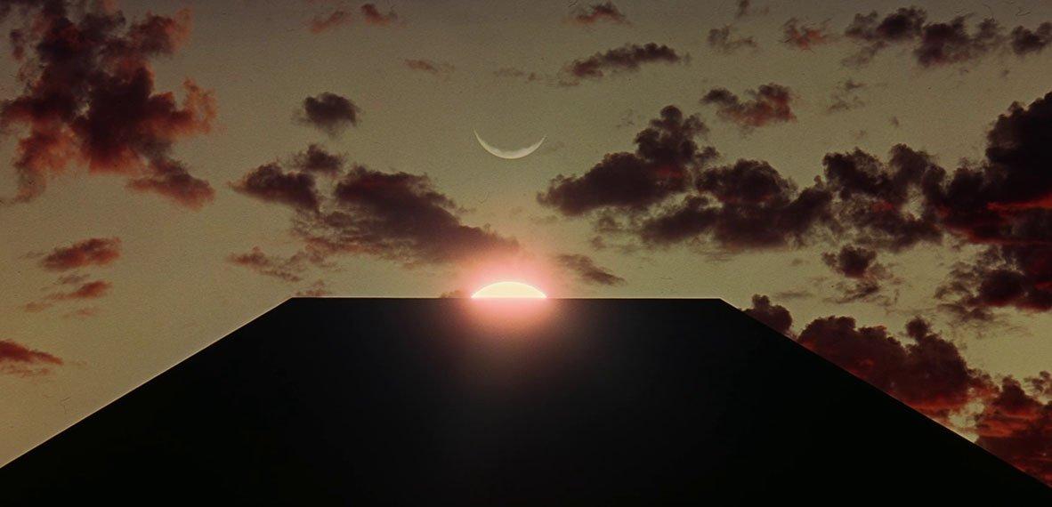 Fotograma de 2001. A Space Odyssey (1968) de Stanley Kubrick