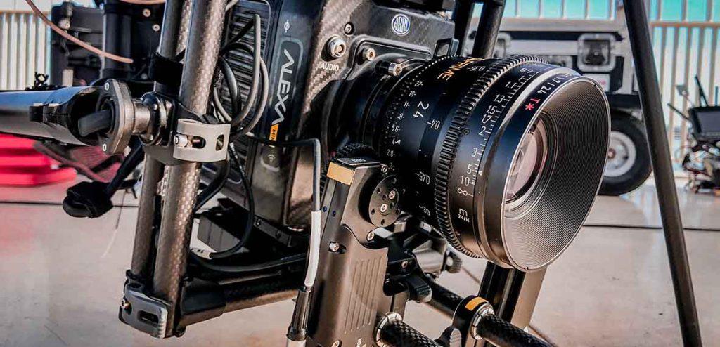 La Arri Alexa Mini montada en un drone cine de OCTOCAMVISION