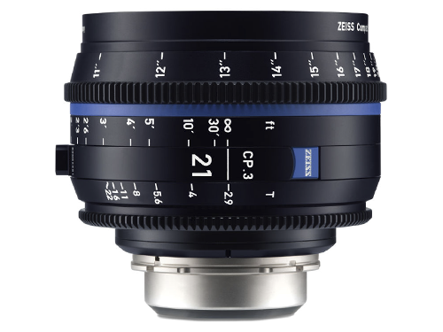 Objetivo Zeiss Compact Prime CP.3 21mm T-2.9 EF