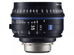 Objetivo Zeiss Compact Prime CP.3 35mm T-2.1 EF