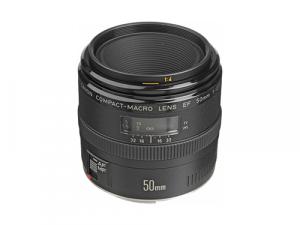 Objetivo Canon 50mm f/2.5 Compact Macro