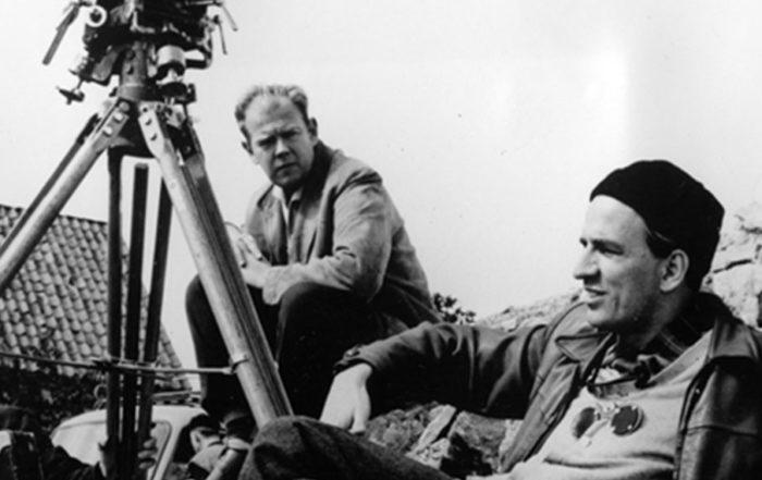 Ingmar Bergman durante un rodaje en 1960. Foto GTRESONLINE