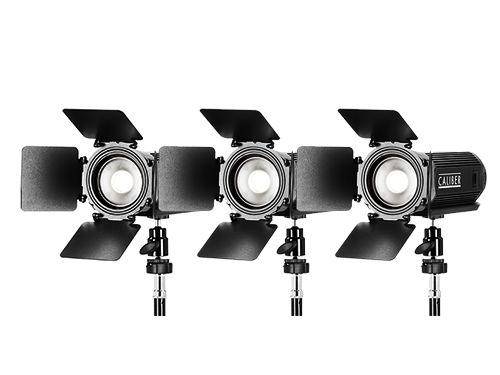 Kit 3 focos LED Litepanels Caliber 17W 5600K