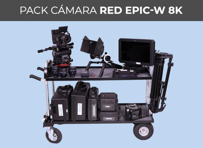 Pack cámara RED EPIC-W 8K