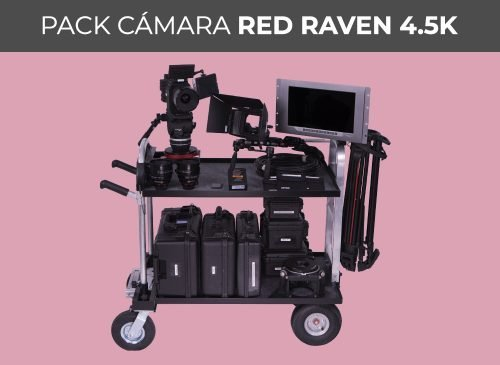 Pack cámara RED RAVEN 4.5K