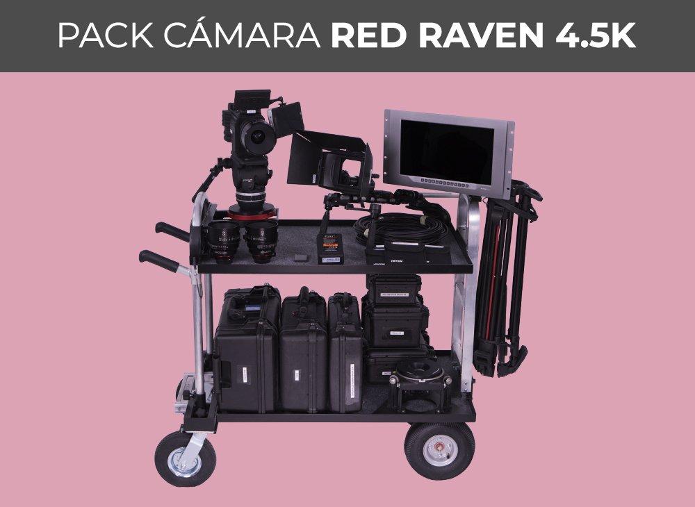 Pack cámara RED RAVEN 4.5K