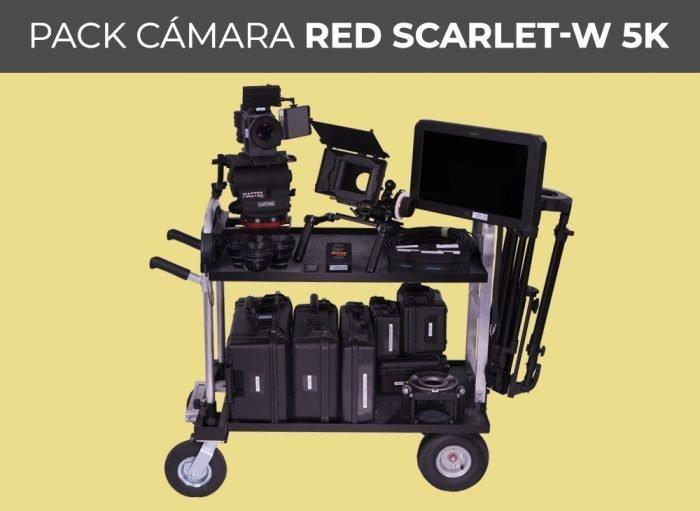 Pack cámara RED SCARLET-W 5K