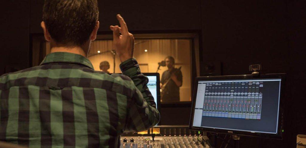 Grabaciones de grupos en directo en Cadenza Studio © Louis Lambeau
