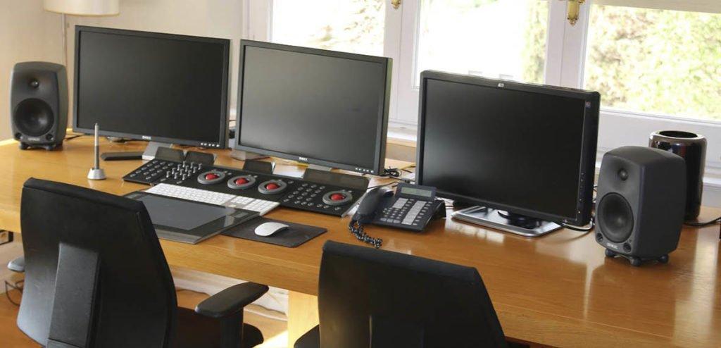 Sala de postproducción de Benecé