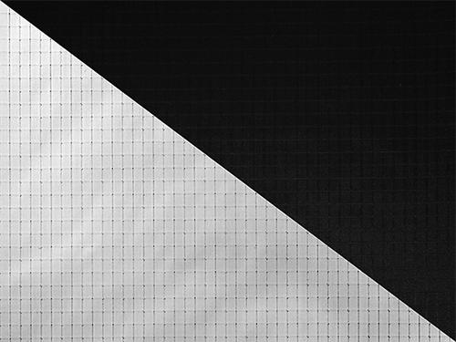 Tela Cinebounce Blanca/Negra Rosco 4″x4″ (120x120cm)