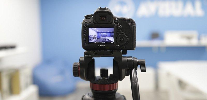 Avisual fotografía Tripode HDR Canon