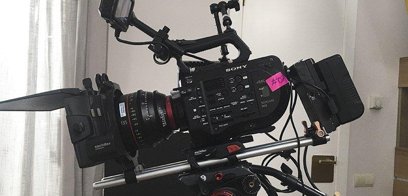 FS7 on set