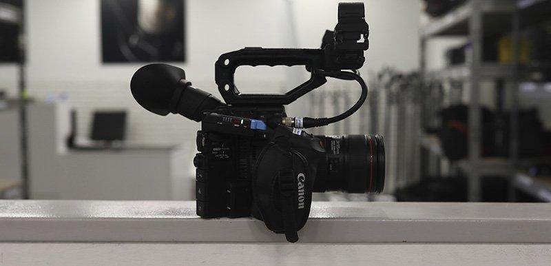 canon c200 sennheiser microfono inalambrico
