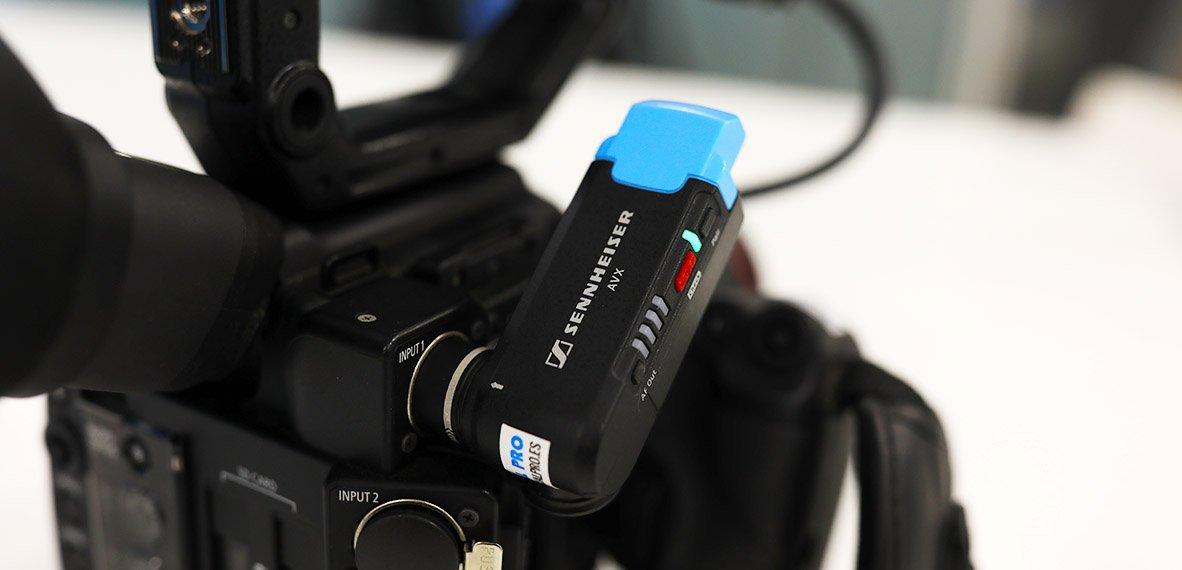 Micrófono inalámbrico sennheiser canon c200