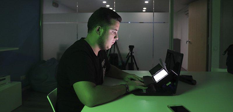 Iluminación creativa Antorcha LED bicolor Fotodiox