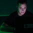 Iluminación creativa hacker green rgb