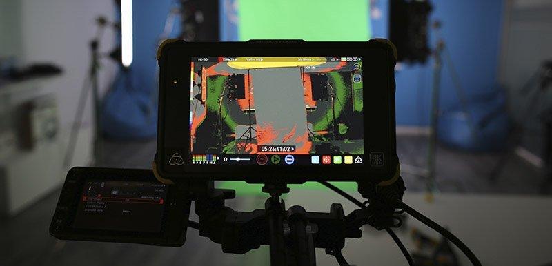 Monitor false color