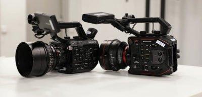 Sony FS5 vs Panasonic EVA1 comparativa