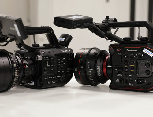 Panasonic EVA1 vs Sony FS5