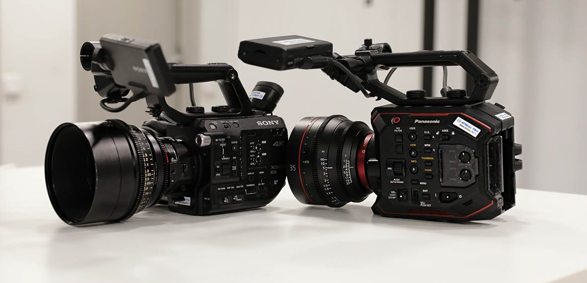 Sony FS5 vs Panasonic EVA1 comparativa