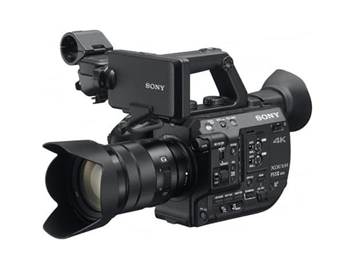 Sony PXW-FS5 II + Objetivo Sony E PZ 18-105mm f/4 G OSS