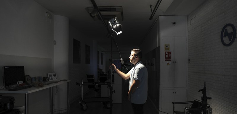 tecnica de iluminación creativa queen lighting set