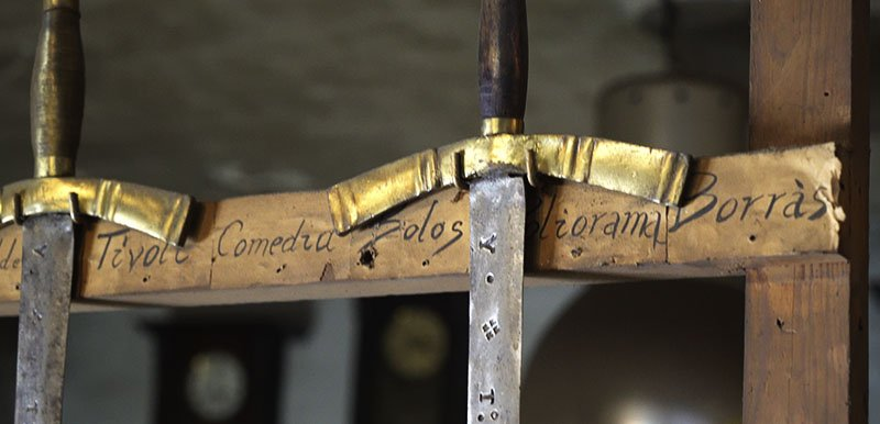 Armas de época Casa Artigua