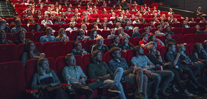 Cinema full of people - Krists Luhaers