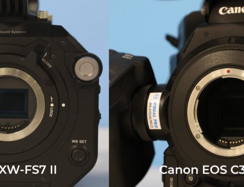 Comparativa Sony PXW-FS7 II versus Canon EOS C300 Mark II