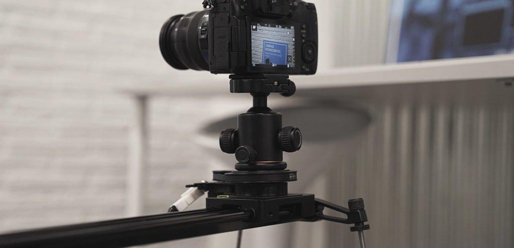 Consejos para grabar vídeo con un slider motorizado camara DSLR