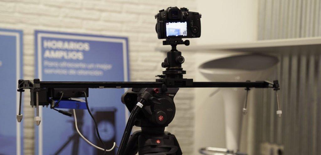 Consejos para grabar vídeo con un slider motorizado tripode