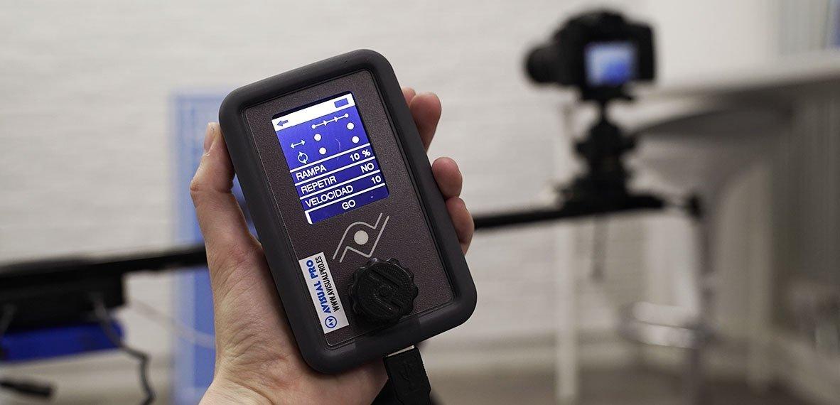 Consejos para grabar vídeo con un slider motorizado