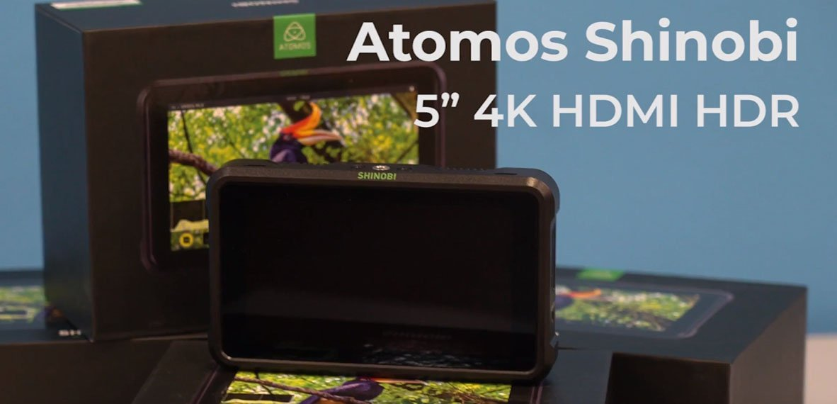 Monitor Atomos 5″ Shinobi HDR