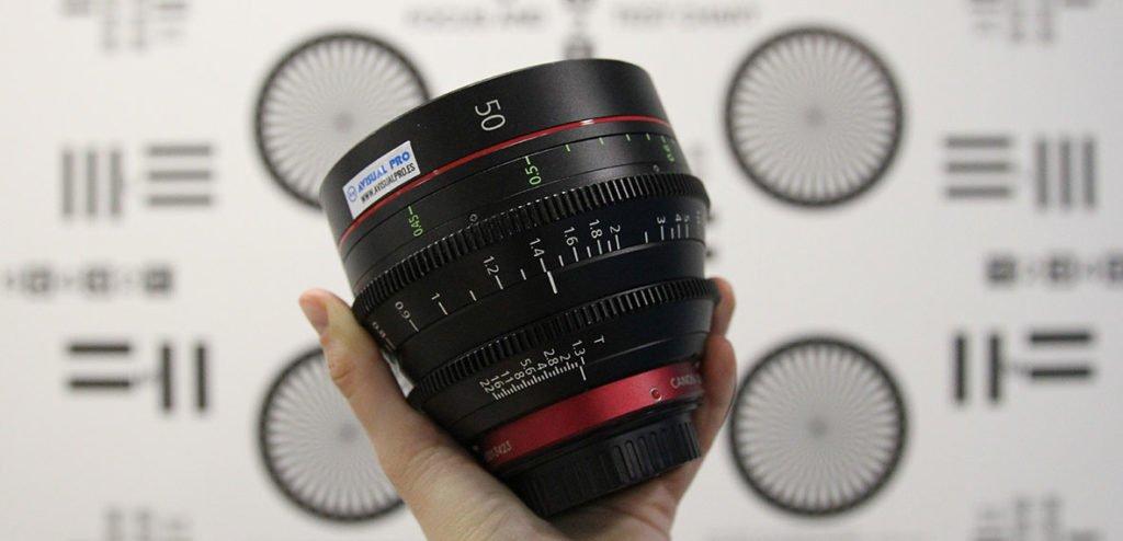 Canon CN-E Prime Lens Cómo es una óptica de cine y en qué se diferencia de una óptica de fotografía