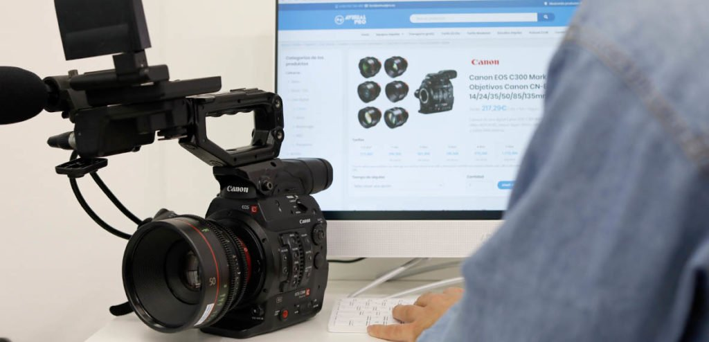 Canon EOS C300 Mark II Alquiler en Avisual PRO
