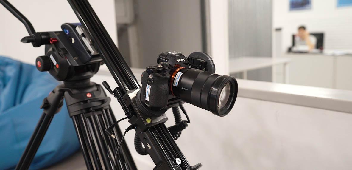 Grabar videos con el slider motorizado Noxon Compact