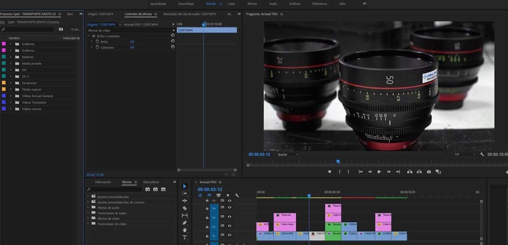 drop shift, consejo premiere pro