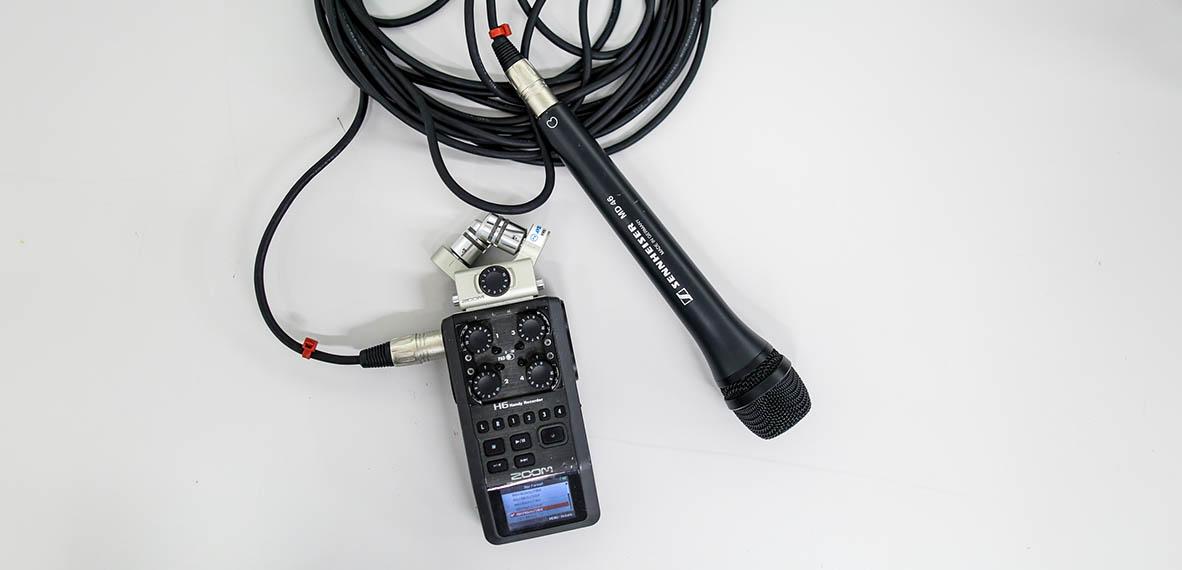 Grabar audio para vídeo digital